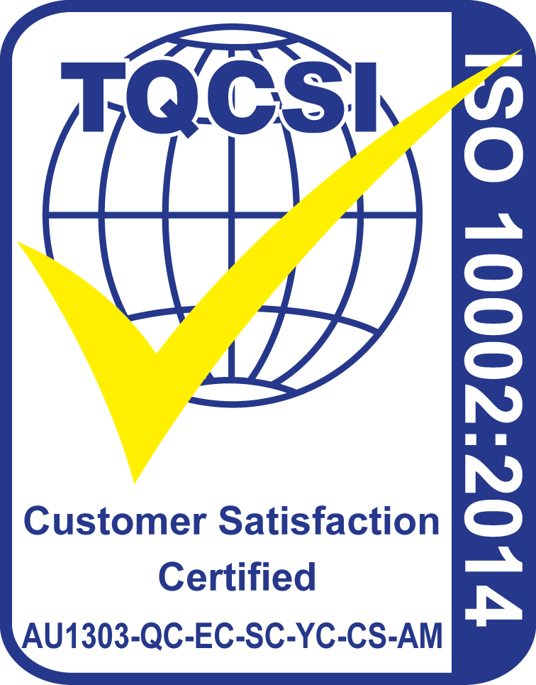 ISO100022014 CertificationMark